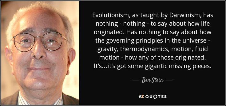 Ben Stein's movie Expelled - No Intelligence Allowed - YouTube