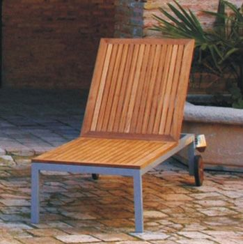 Mobiliario Terraza  Jardín y  Playa: Tumbonas Aluminio y Acero | Tumbona Sant Antoni