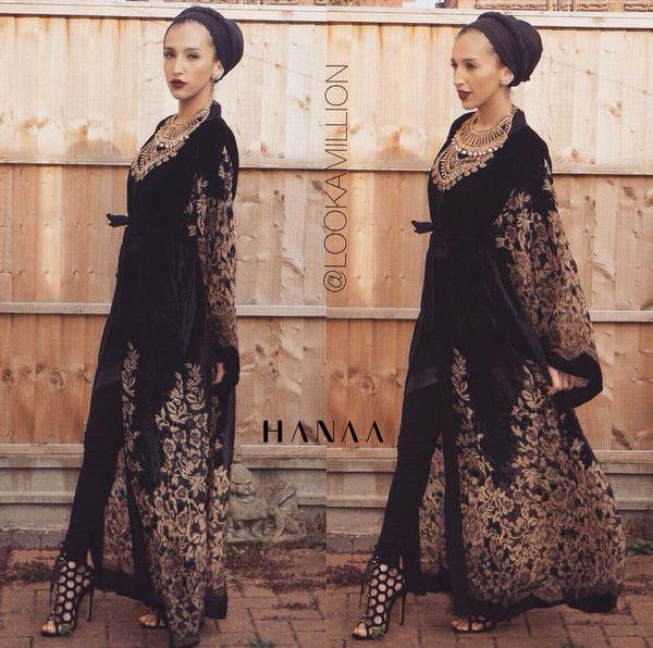 *PRE ORDER* Laylah Velvet Open Abaya