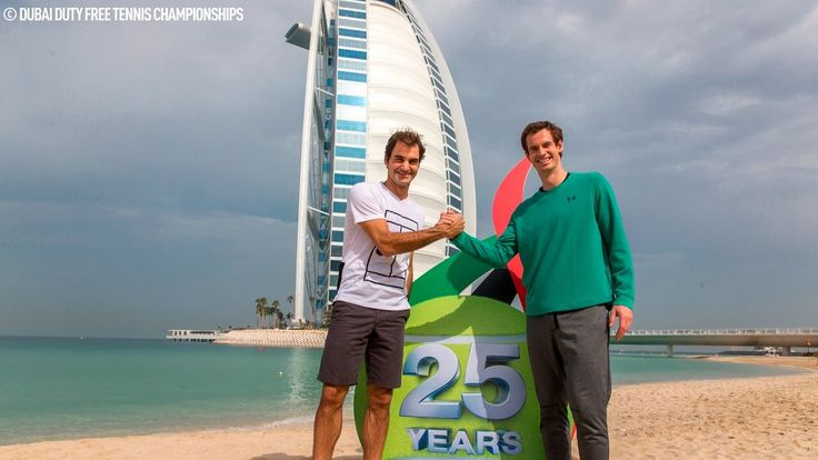 #atp #tennis #news  Del Potro, Murray, Federer Hit The Beach In Acapulco & Dubai