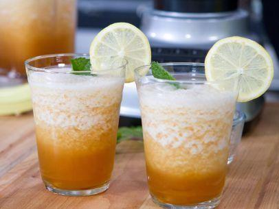 """Shaved Sweet Tea Ice (Trisha on Ice) - Trisha Yearwood, """"Trisha's Southern Kitchen"""" on the Food Network."""