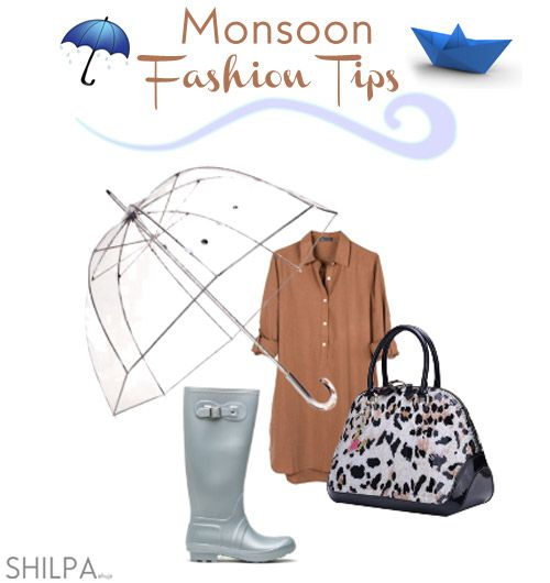 Monsoon Fashion Tips: How to Stay Stylish in the Rains