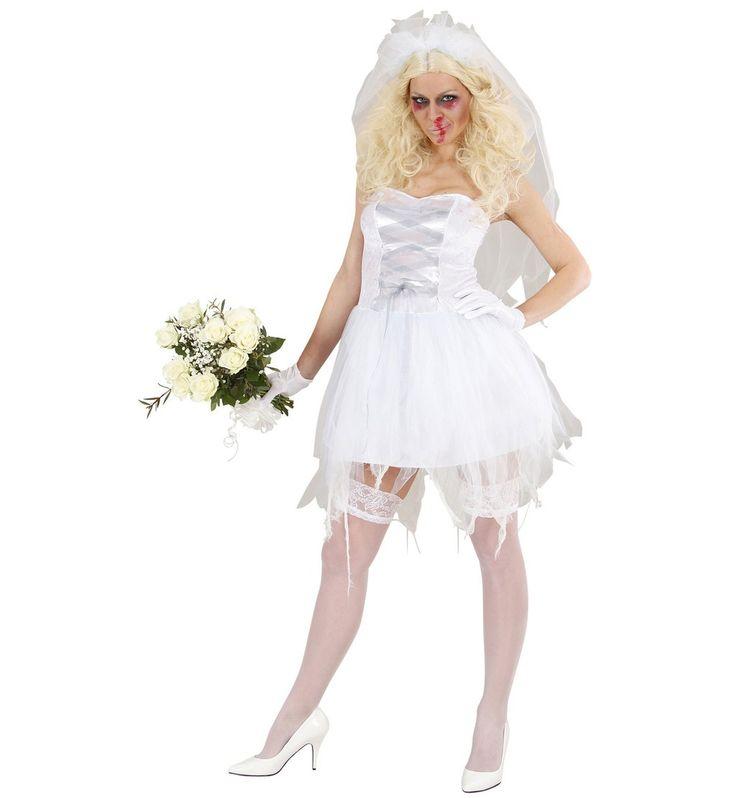 Zombie Bruid Kostuum Vrouw ==> Feestwinkel XL!