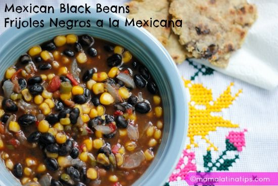 This is a perfect recipe to make when you are in a hurry and need a fast, delicious and nutritious meal. Just add a few warm soft tortillas.