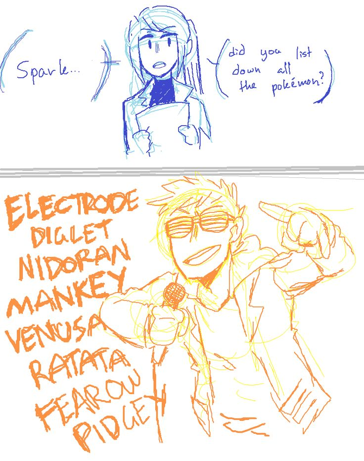 Pokemon Go | Team Leaders Blanche and Spark by keik0n.tumblr.com