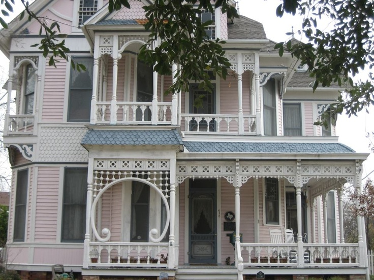 victorian painted lady porch - photo #40
