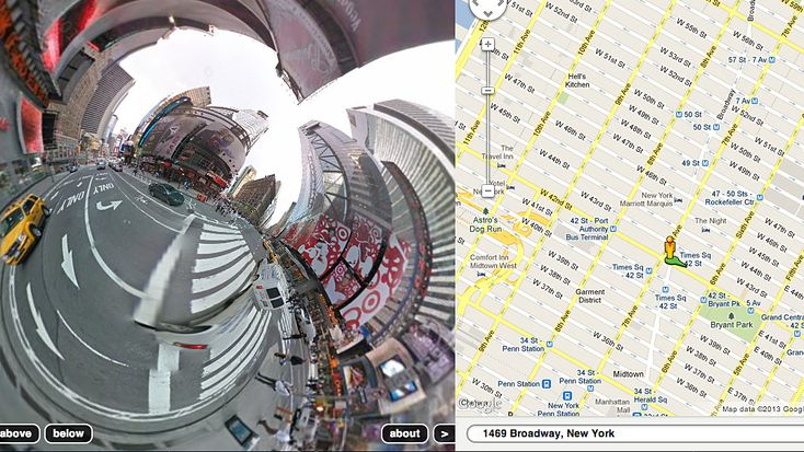 A Google Earth-based art round up.