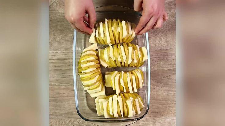 Fächerkartoffeln mit Mozzarella - So wird´s gemacht! - gofeminin