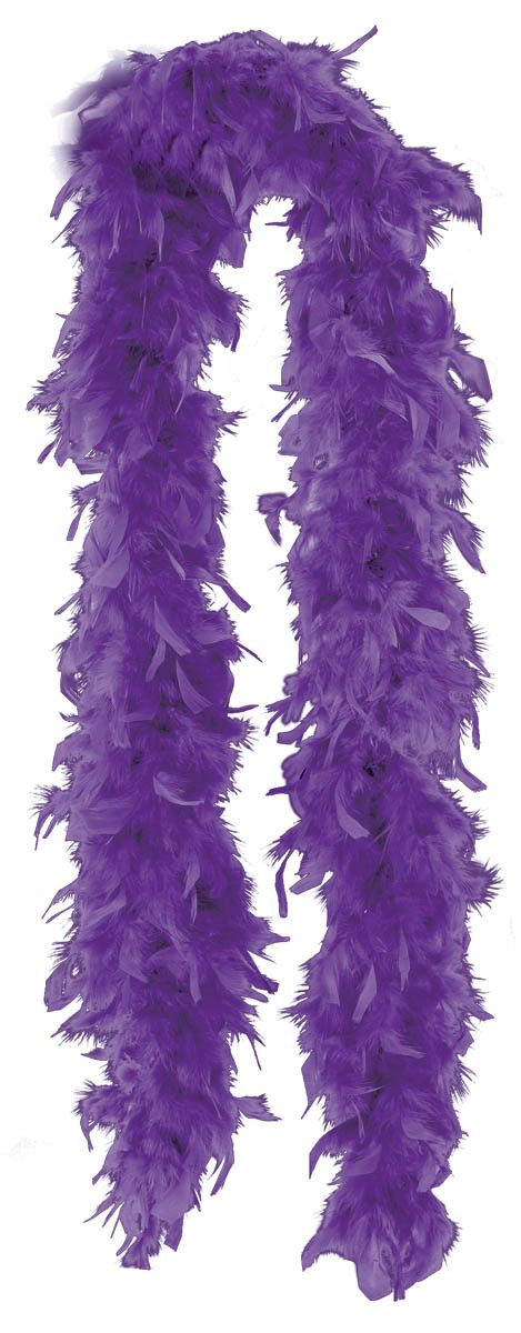 Purple Feather Boa - use as a headshot prop (actor/director) for professional website