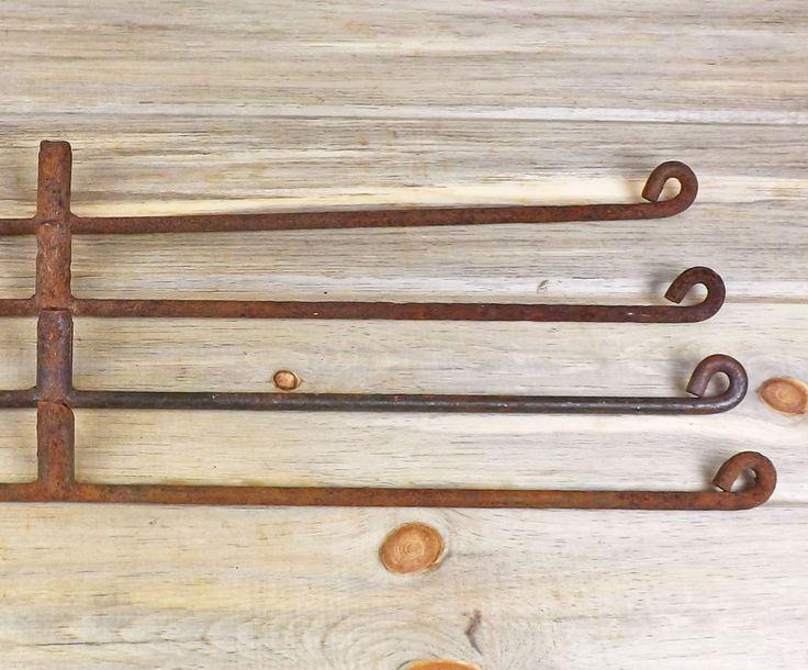 "Metal Rods Set of 4, Length 30"", Scrap Metal, Salvaged Metal, Welding Supplies, Long Metal Rods, Industrial, Assemblage. Metal Crafts by DogFaceMetal on Etsy"