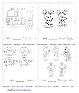 Classroom Freebies: Math Worksheet for Fire Safety Week!
