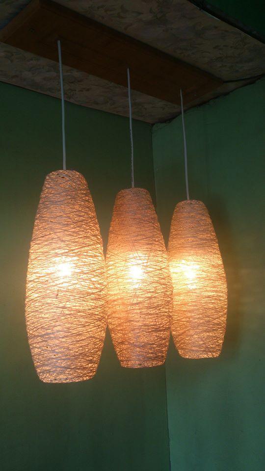 3 Light Bird S Nest Abaca Chandelier For 1499 Only