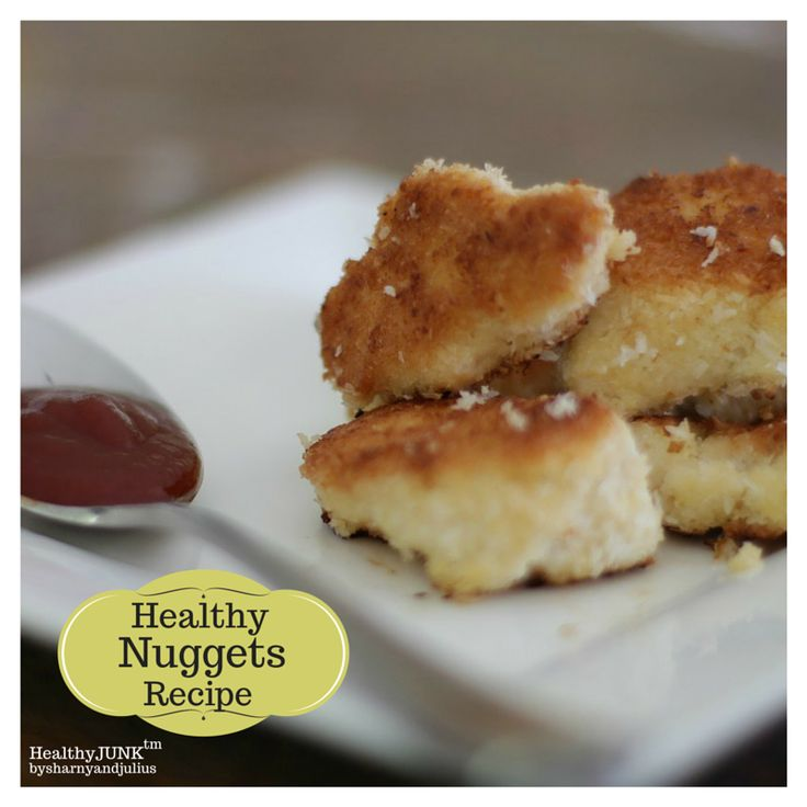 Healthy Nuggets Recipe | Sharny and Julius