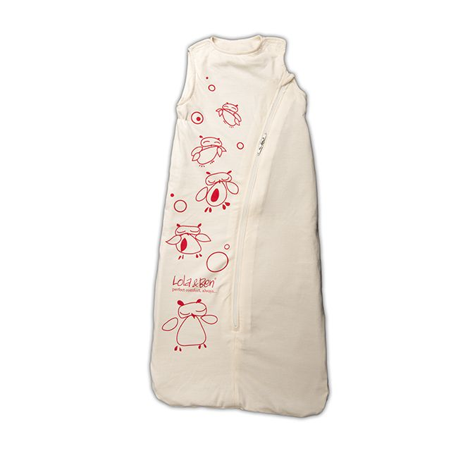 Sleep Solution made from 100% natural fibres - Baby Sleeping Bag with Owl print  Lola & Ben® is an Organic Cotton Baby Sleeping Bag with removable Merino or Organic Cotton liners suitable for every season - Made here in NZ
