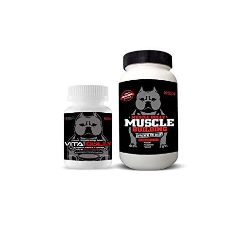 Vita Bully Vitamins (60 Tablets) & Muscle Building Supplement (120 Tablets) by Muscle Bully...