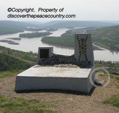 Grave of 12 Foot Davis, Peace River, Alberta