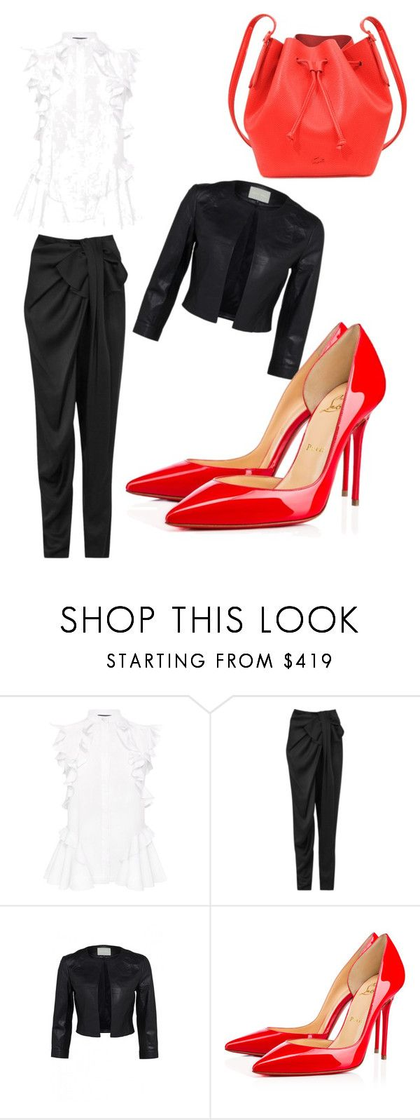 """Untitled #31"" by balog-viki on Polyvore featuring Alexander McQueen, Lanvin, Christian Louboutin and Lacoste"