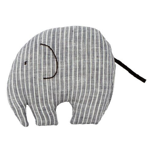 Grey elefant / Stofftier 'Elefant', graublau-gestreift  € 14,99  http://shop.babyssimo.de/collections/japanischer-zoo/products/stofftier-elefant-blau-gestreift#