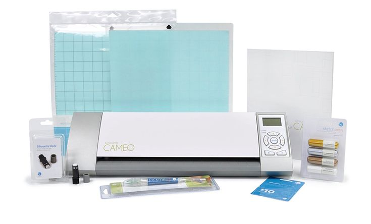 Silhouette America - Cameo - Electronic Cutting System - Starter Bundle at Scrapbook.com