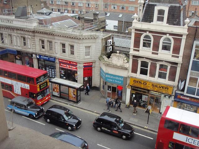 View from the Paddington Hilton, London.