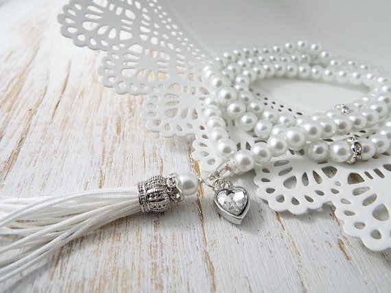 99 bead count tasbih tasbeeh sibha misbah Islamic rosary muslim gift Eid Ramadan Wedding gift Muslimah pearls