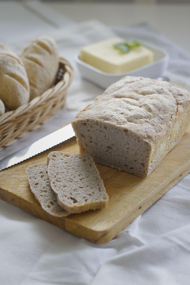 Bezglutenowy chleb bez kukurydzy.