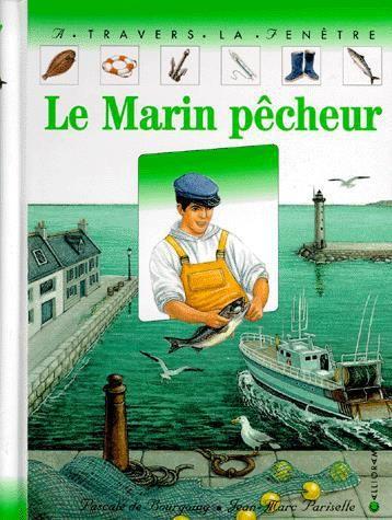 CPRPS 31997000766030 Le Marin pêcheur. Le chalutier de Jean appareille pour la pêche. Le chalut est mis à l'eau, tiré deux ou trois heures, puis remonté. Les poissons tombent en vrac sur le pont. Le récit de cette pêche est agrémenté de quatre films transparents. [SDM]