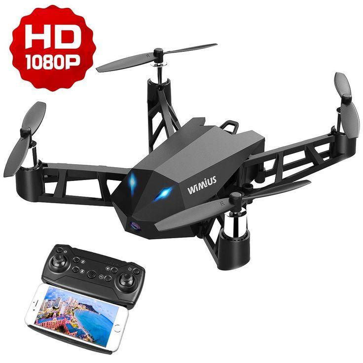 WiMiUS <b>Mini Drone</b> avec Caméra <b>HD</b> 1080P Native, <b>Drone</b> WiFi ...