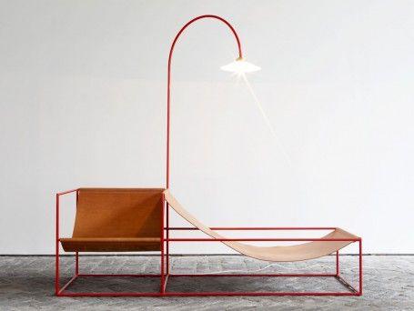 Duo Seat Lamp by Muller Van Severen