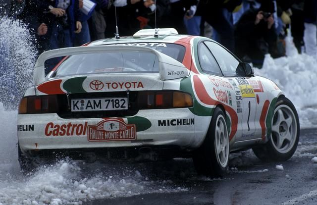 Didier Auriol/Bernard Occelli - Toyota Celica GT-Four Gr A [Monte Carlo]