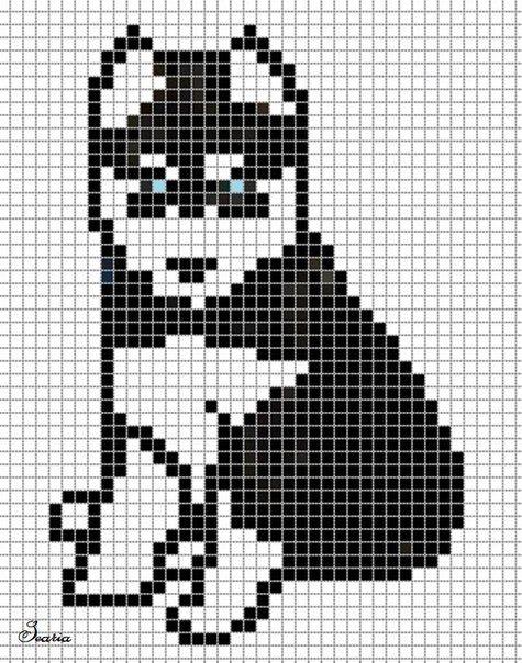 коты кошки и другие Muster Häkeln Häkeldeckchen Und Decke Häkeln