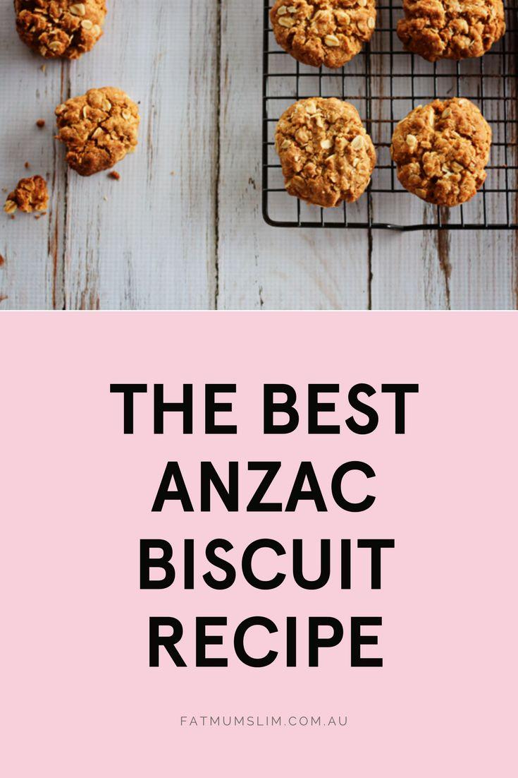 The Best ANZAC Biscuit Recipe https://fatmumslim.com.au/best-anzac-biscuit-recipe/