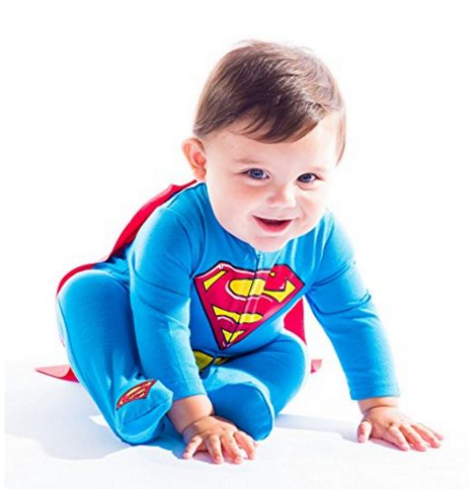 Baby Boy Superman Costume