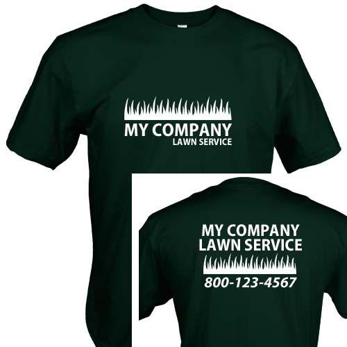 Landscaping Uniform 103 Custom printed shirts, Printed