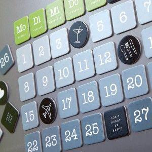 Magnetischer Kalender