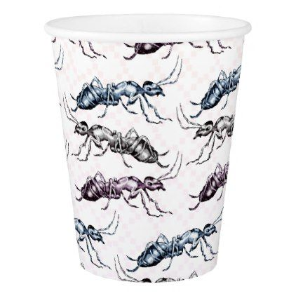 Ant Insect Bugs Paper Cup - baby gifts child new born gift idea diy cyo special unique design