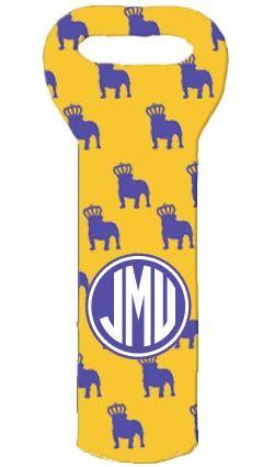 JMU Wine Tote