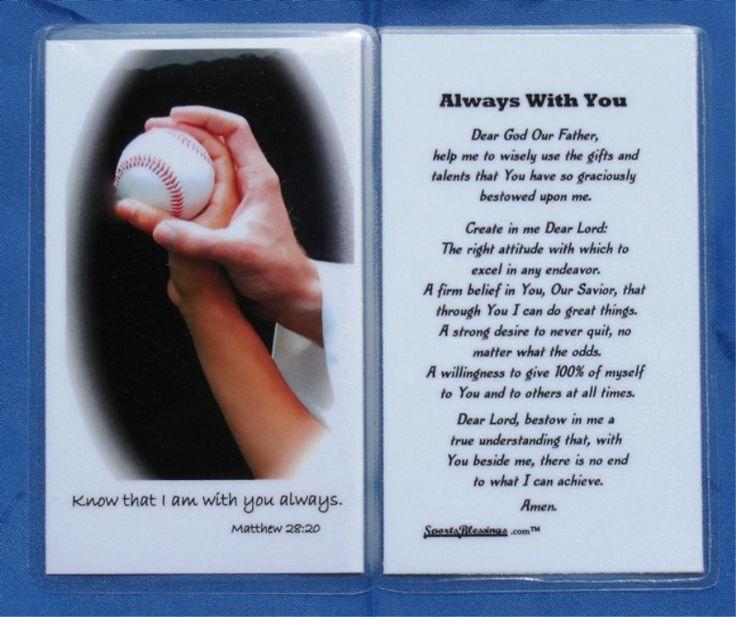 baseball prayer baseball mom pinterest prayer for