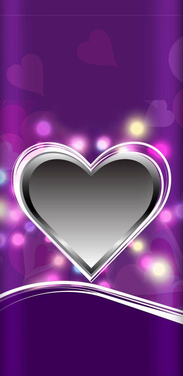 Wallpaper Sindrini Pint Heart Iphone Wallpaper Purple Wallpaper Heart Wallpaper