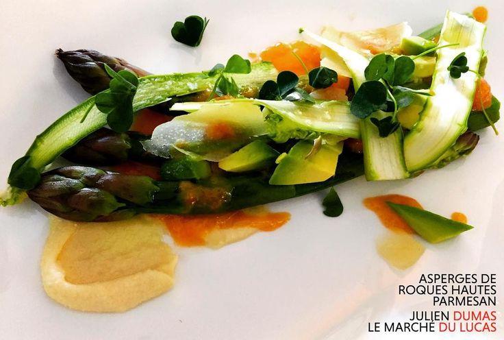 Asperges de Roques Hautes Parmesan #juliendumas #marchedulucas #gastronomy #recipe #champagnepommery #relaischateaux #chef #NMC #mealoftheday #foodie #foodies #visitparis #frenchcuisine #beautifulcuisines #gastronogram #igerparis #photooftheday #picoftheday http://w3food.com/ipost/1520315758378586157/?code=BUZPyCUlZAt