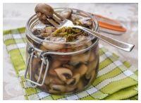 Русская кухня в Люксембурге - Быстрое маринование грибов