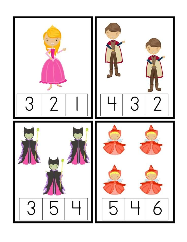 Preschool Printables: Sleeping Beauty pack, 99 cents