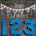 Moogly Crochet Number Set - free patterns for 0-9! #crochet