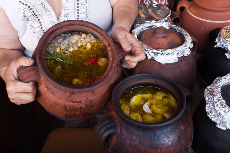 Prodromos Saturday Pea soup baking
