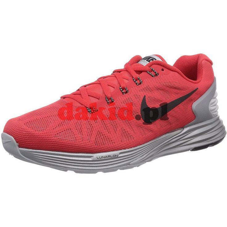 Nike LUNARGLIDE 6 FLASH · nr kat.: 683651 600 · kolor: action red/black-rflct silver