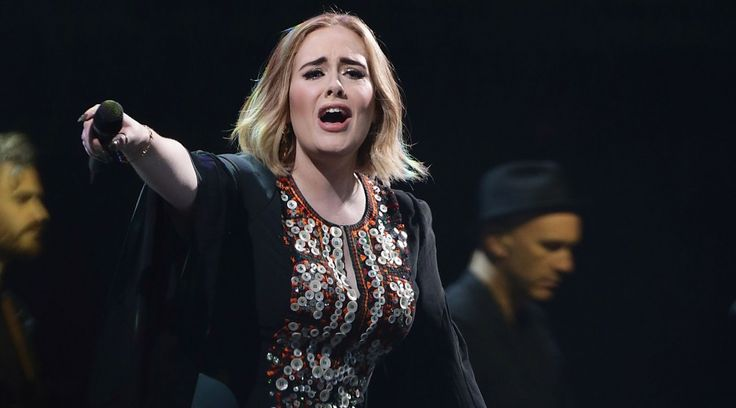 Adele at Glastonbury (Yui Mok/PA)