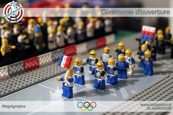 Les JO, si tu rates qqch à la TV tu peux réviser grâce à biathlon.fr qui refait tout en Legos !  #legolympics #legos #olympics