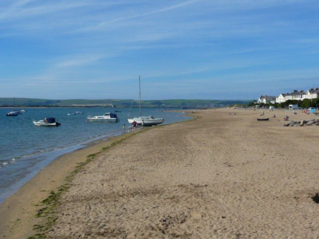 The Beach at Instow in June