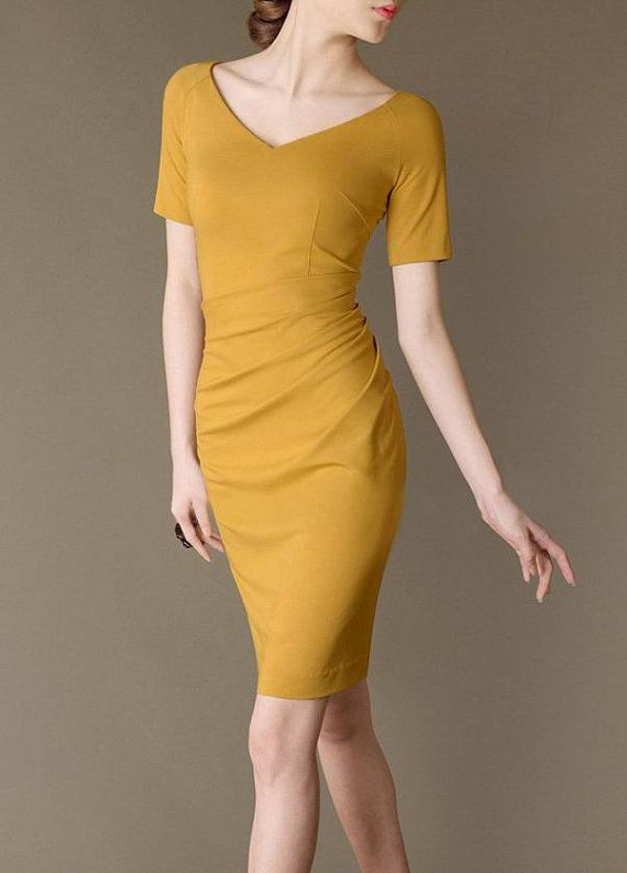 French Elegance Perfect Curve Fashion Formal Dress by Chieflady, $108.00
