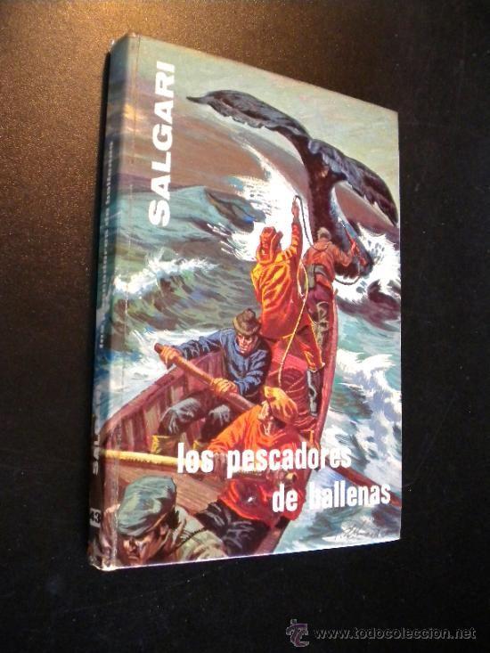 Los Pescadores de Ballenas. Emilio #Salgari - #Gahe, nº 43